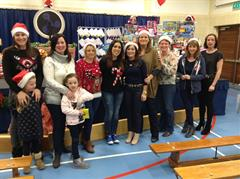 Parents Support Group photo from previous Christmas Fairs