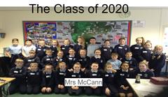 The Class of 2020 Mrs McCann