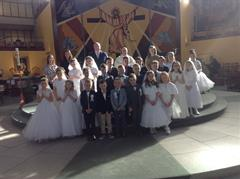First Holy Communion Celebrations !