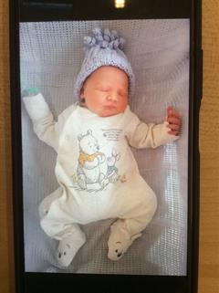 Congratulations to Mrs Mc Keown on the birth of Seaghdha.