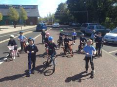Primary 3 enjoy the Big Pedal