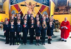 Primary 7 Children Receive the Sacrament of Confirmation