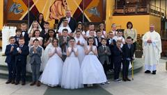 Primary 4 Children Receive the Sacrament of Holy Communion