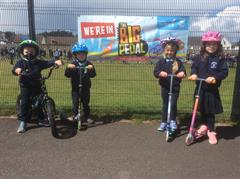Primary 1 Support the Big Pedal