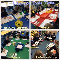 Literacy Task Time in Primary One