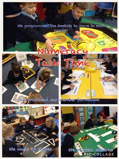Numeracy Task Time in Primary One