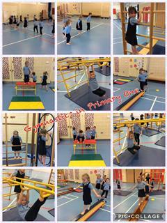 Gymnastics in Primary One