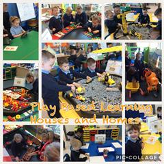 Play Based Learning on Primary One - Houses and Homes