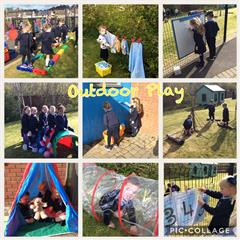 Outdoor Play in Primary One