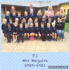 P.1 Mrs Maguire, 2020-2021