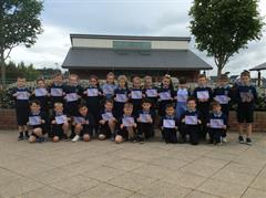 Primary 3kp Receive Sports Day Certificates