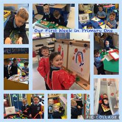 Our First Week in Primary One