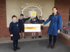 Cheque Presentation to the Cancer Fund for Children