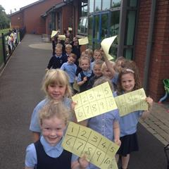 Our Primary Two Number Hunt.