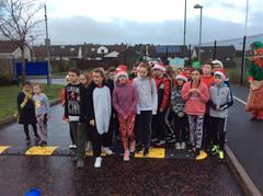 P7 Santa Fun Run